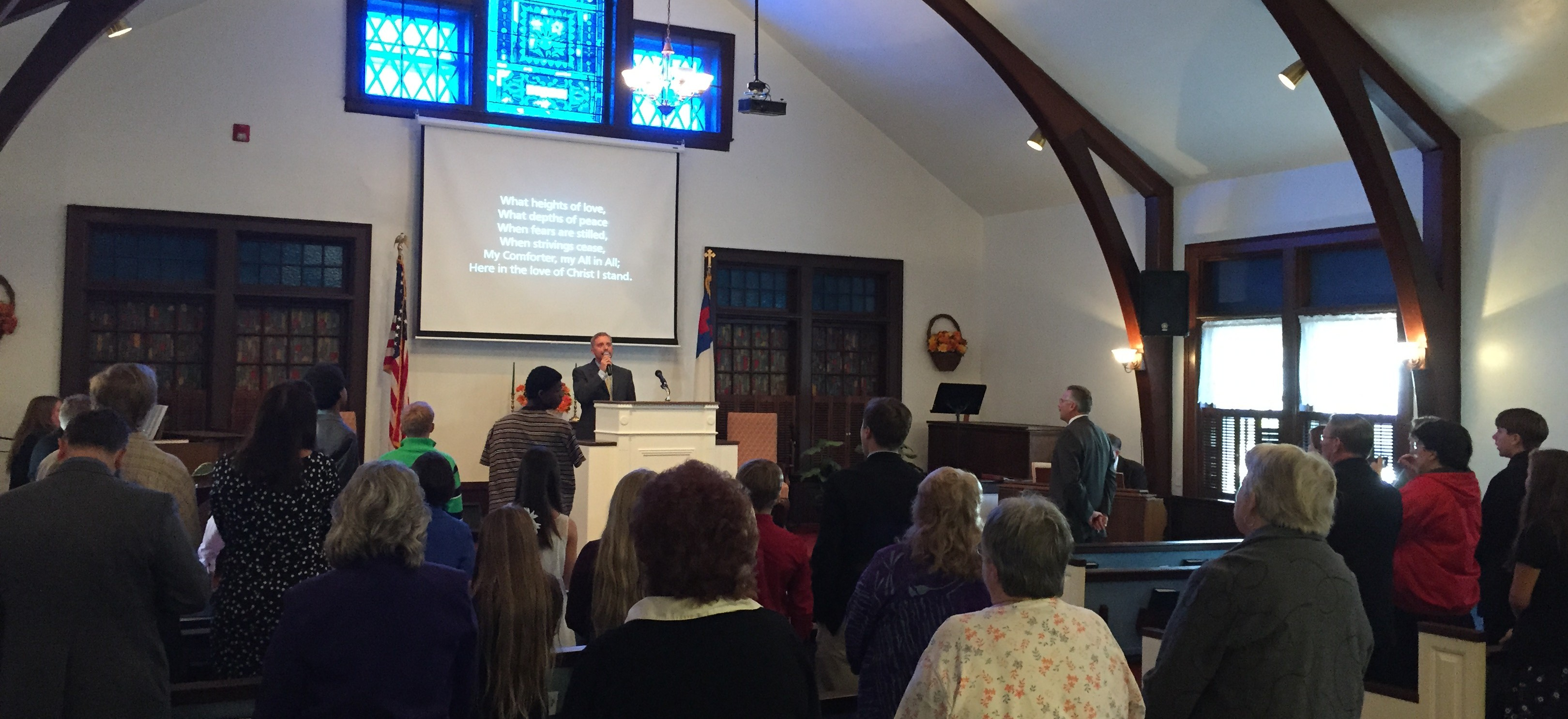 Mount Greylock Baptist Church Worship Service