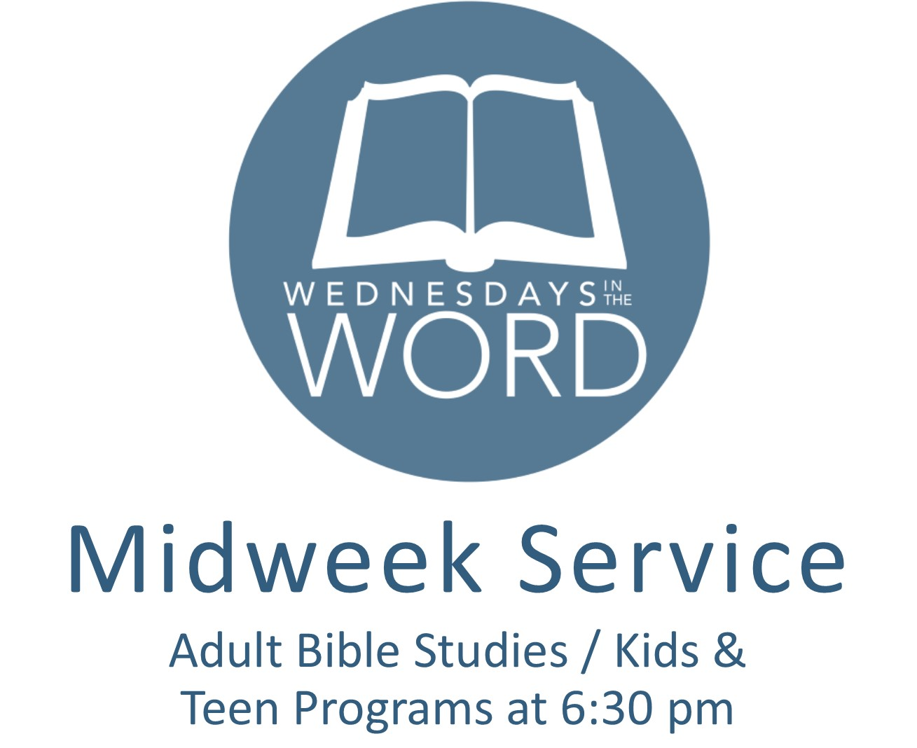 Midweek Groups for Adults, Teens, and Children