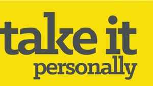 take it personally 16.9