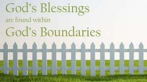 Blessings in Boundaries